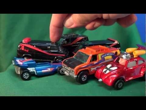 A-Team Van Comparison Ertl vs Hot Wheels
