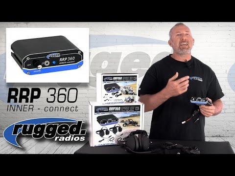 Rugged Radios RRP360 Intercom