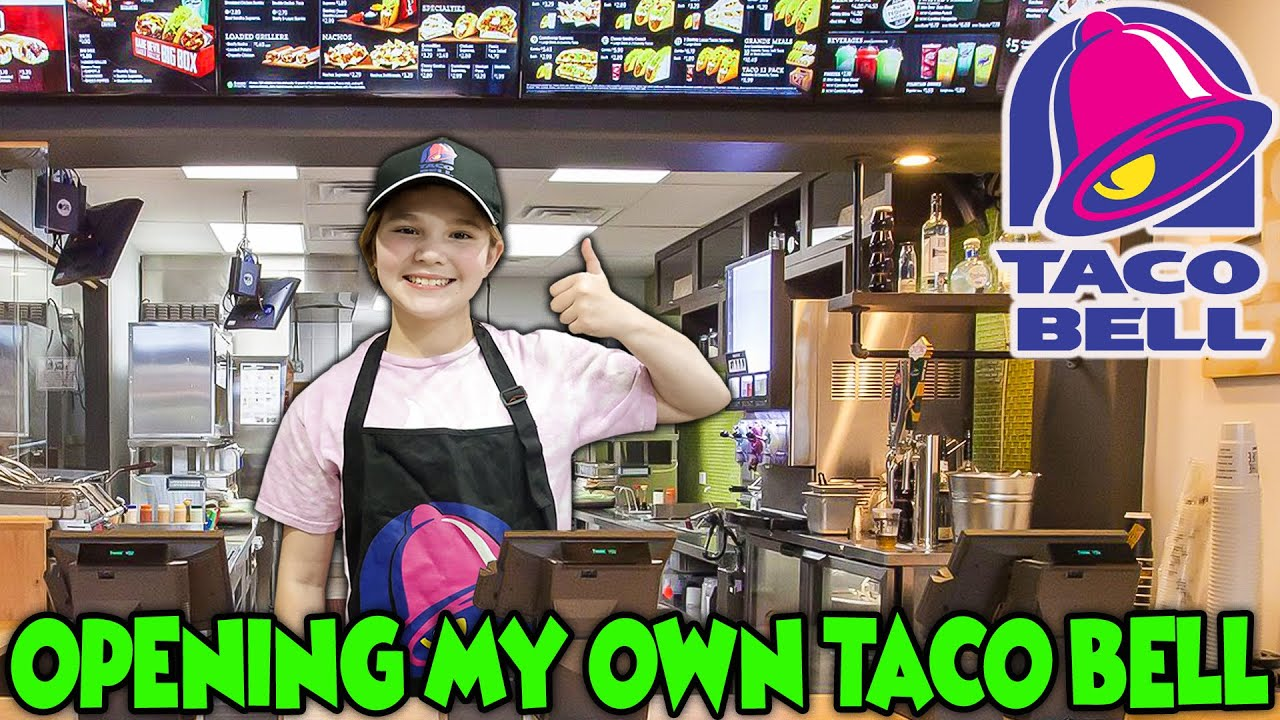 I Opened My Own Restaurant At Home! The Worst Taco Bell Ever