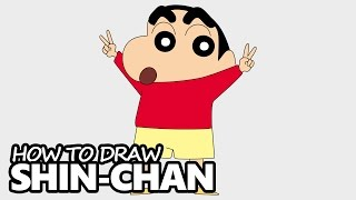 How to Draw Shin Chan - Easy Step by Step Video Lesson