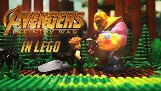 LEGO Avengers: Infinity War Recap in 100 Seconds!🔥