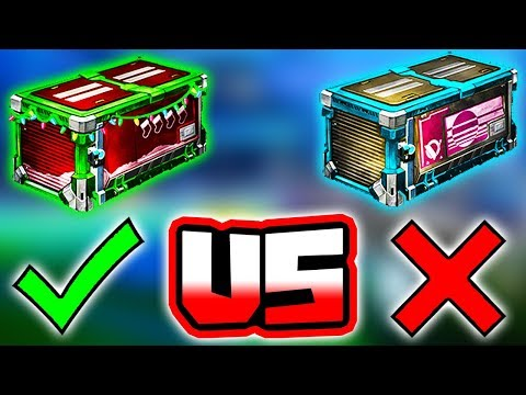 SECRET SANTA VS VELOCITY CRATE! | Which = More Profit?? ( Rocket League Items / Trading )