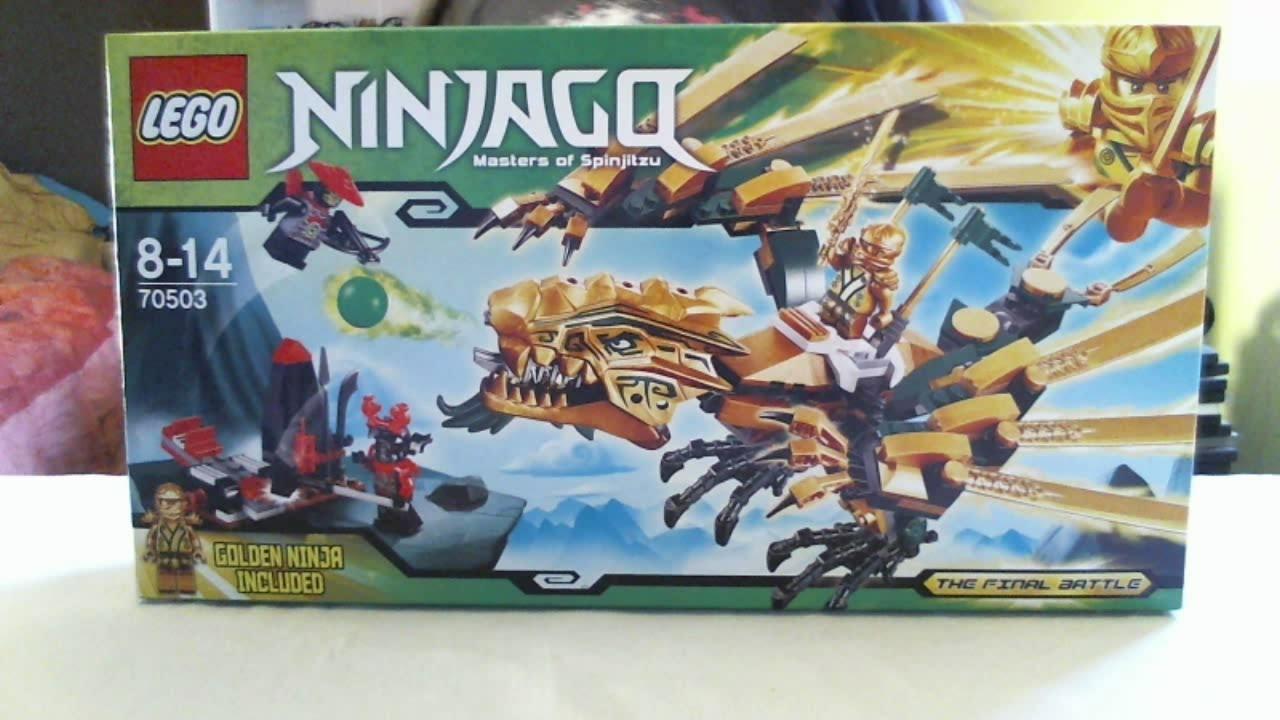 lego live construction ninjagos the golden dragon 13 franais youtube