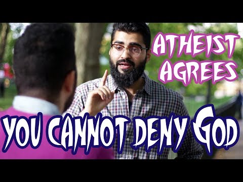 """Speakers Corner - Atheist Agrees """"You Cannot Deny God"""" 