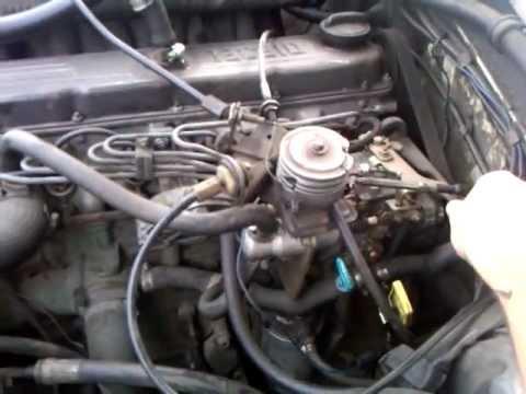 1982 Volvo 240 Diesel D24 running