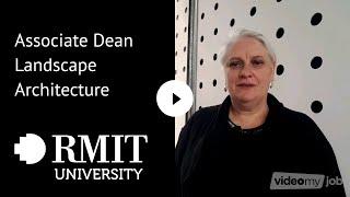 Associate Dean Landscape Architecture