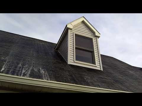 Easton Maryland Roof Cleaning.  Spot Services Pure Wash. We specialize in roof cleaning. Call today