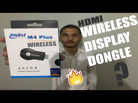 Anycast HDMI Dongle Full Setup + Unboxing + Review 2019. Project Wireless Streaming (Display Donle)