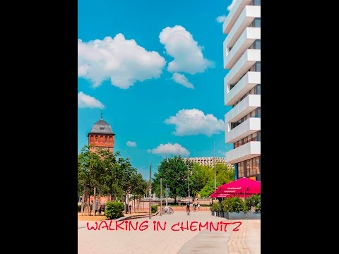 {Walking in Chemnitz} A quiet walking tour on holiday