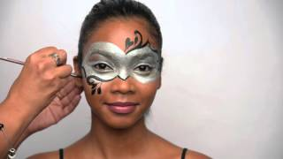 How to Paint a Masquerade Mask for Halloween