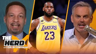 LeBron's NBA career may end sooner than anticipated; Talks trades & Clippers - Broussard | THE HERD