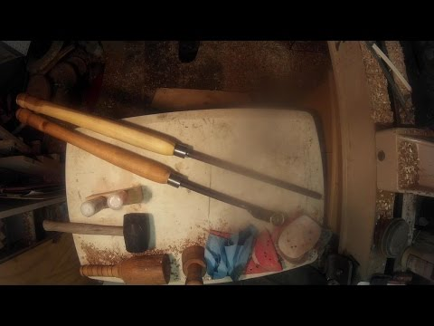 Making Metal Spinning Tools Pt2