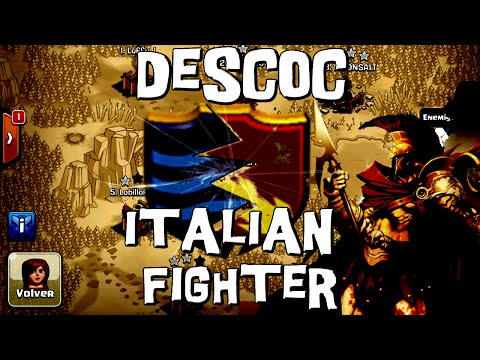 DesCoC Italian Fighter | Martes Bélico #5 | Descubriendo Clash of Clans