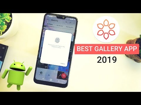 Best Gallery App With Fingerprint Lock [2019] Hindi
