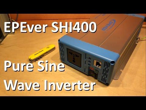 EPEver SHI400 Pure Sine Wave Inverter - 12v Solar Shed