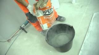 видео Как разводить клей для плитки: правильная технология