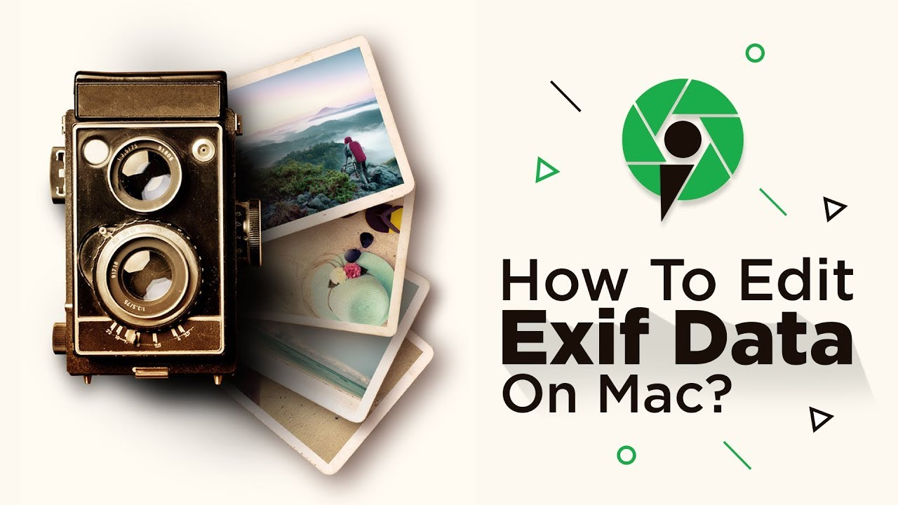 Photos EXIF Editor for Mac OSx