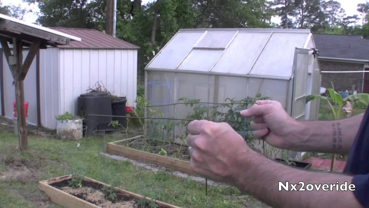 How to find a buried water line easily with a wire coat ...