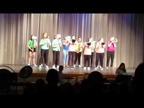 Josie May 2019 West De Pere Middle School Talent Show - Mii Channel Theme