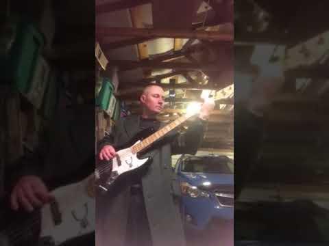 Live Lightning Crashes Bass Cover Youtube