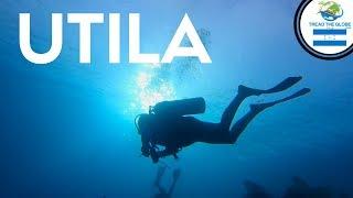 Scuba Diving In UTILA Honduras (2019) Backpacking Central America