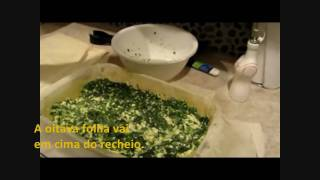 Spanakopita - Spinach And Feta Cheese Pie (very Easy Recipe)