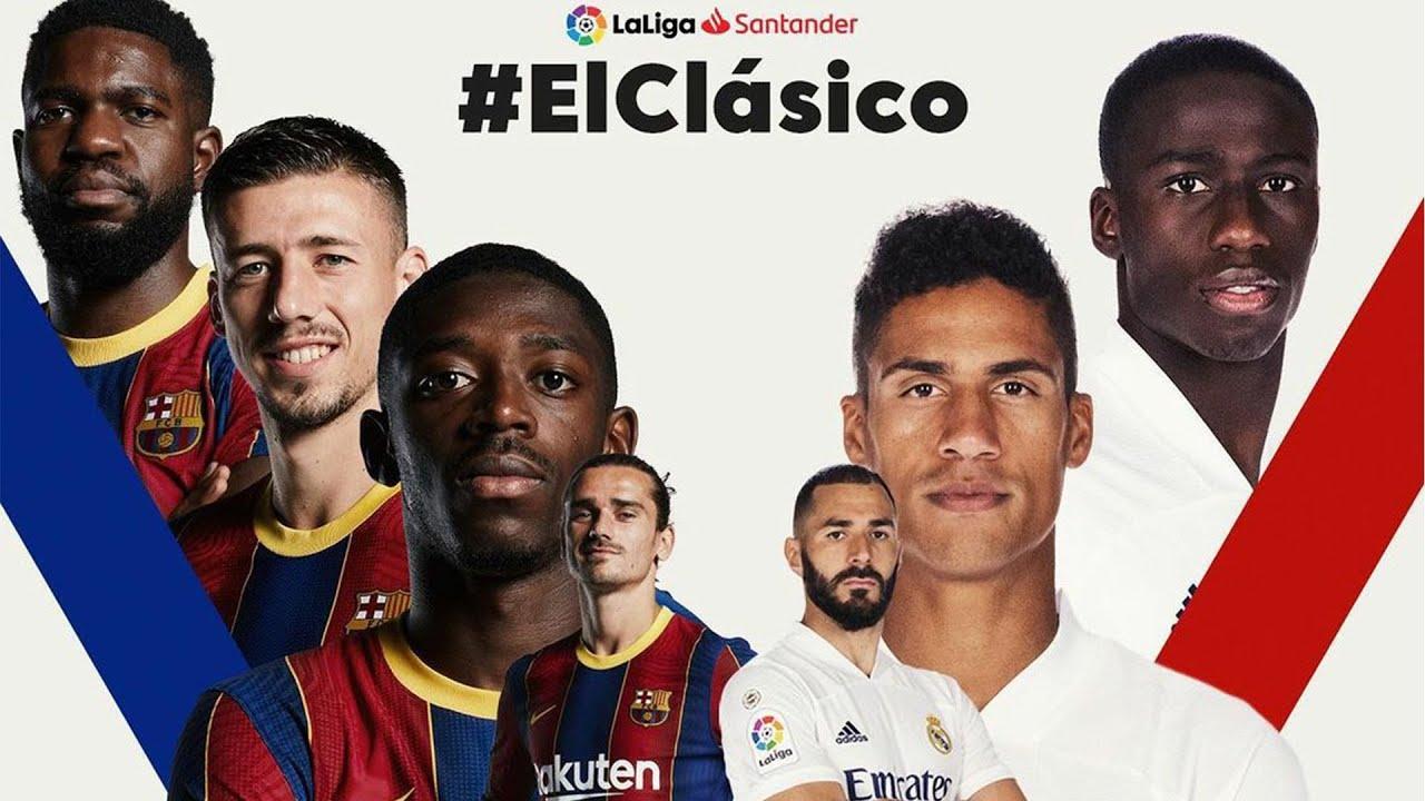 LIVE EL CLASICO ~ BARCELONA VS REAL MADRID (LALIGA 2020 ...