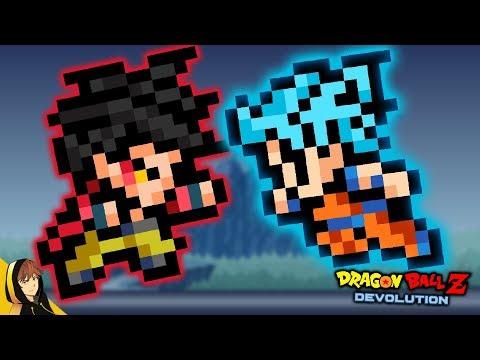 GOKU SSB VS GOKU SSJ4!!   Dragon Ball Z Devolution #3