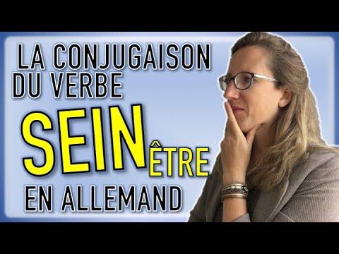 La Conjugaison Du Verbe Sein En Allemand Youtube