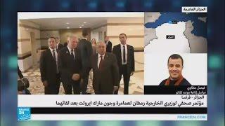 زيارتان متزامنتان لوزيري خارجية فرنسا وسوريا إلى الجزائر