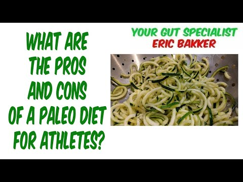 What Are The Pros And Cons Of A Paleo Diet For Athletes?