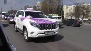 Тойота Лэнд Крузер ПРАДО на свадьбу в Твери