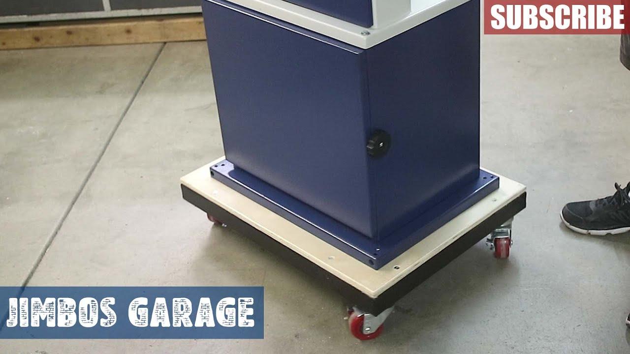 Rikon Bandsaw Cart Build - Jimbos Garage