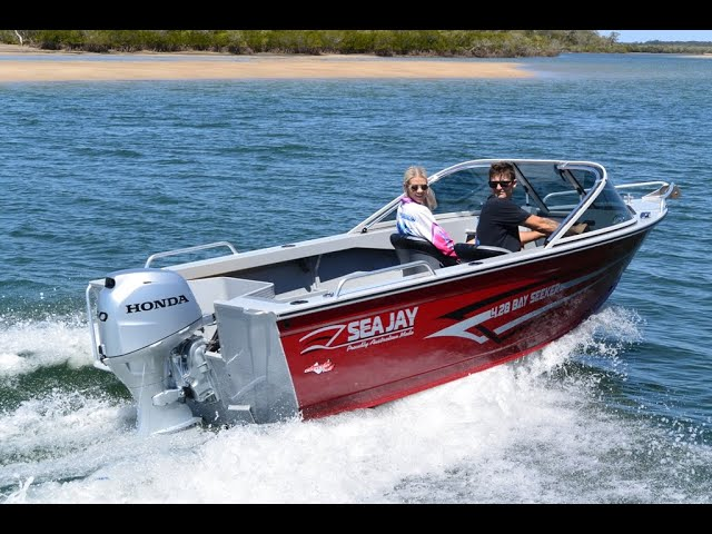 428 Bay Seeker by Sea Jay Boats