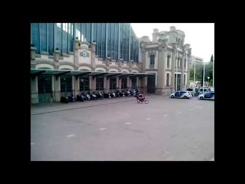 Автовокзал Барселоны Estacio Nord  Испания/Barcelona, Spain Bus station Estacio Nord