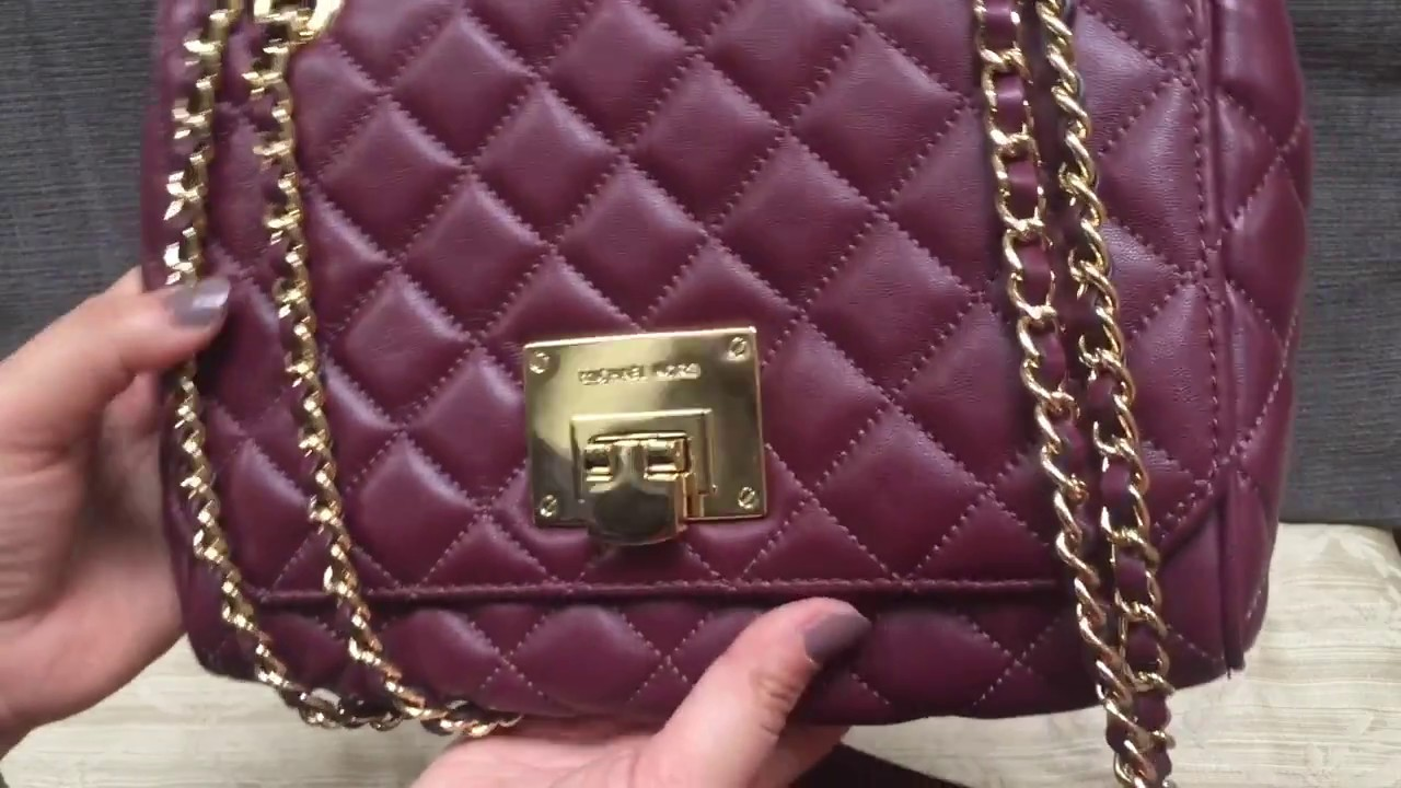 cb6404c65904 MICHAEL KORS Vivianne quilted leather - 3 month REVIEW - PROS and CONS