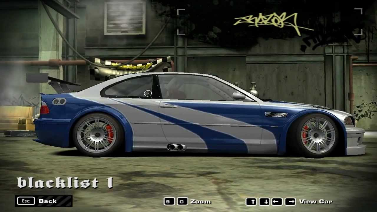 NFS Most Wanted Blacklist Car - #1 Razor - YouTube