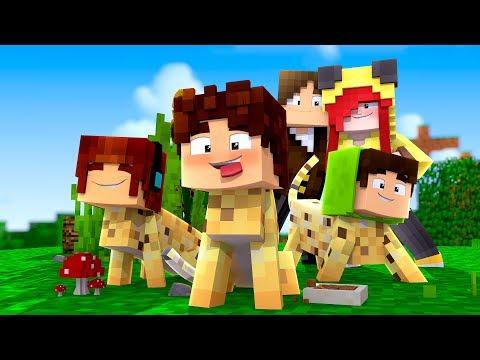 Minecraft: DISFARCE DE GATINHO - (Esconde-Esconde com Mobs)