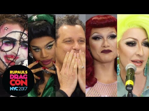 Detox, Milk, Miss Fame, Naomi Smalls, Isaac Mizrahi Drag Does Fashion Week: RuPauls DragCon NYC 2017