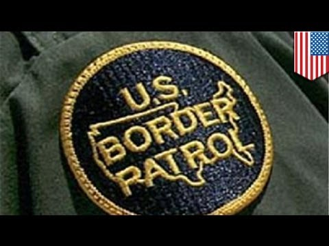 Border Patrol agent tracks suspect's footprints