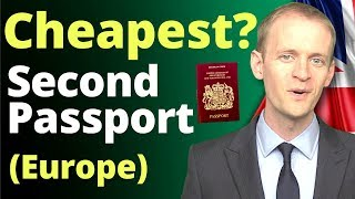 Cheapest second passport patнways 💶 (in Europe) in 2020 🇪🇺