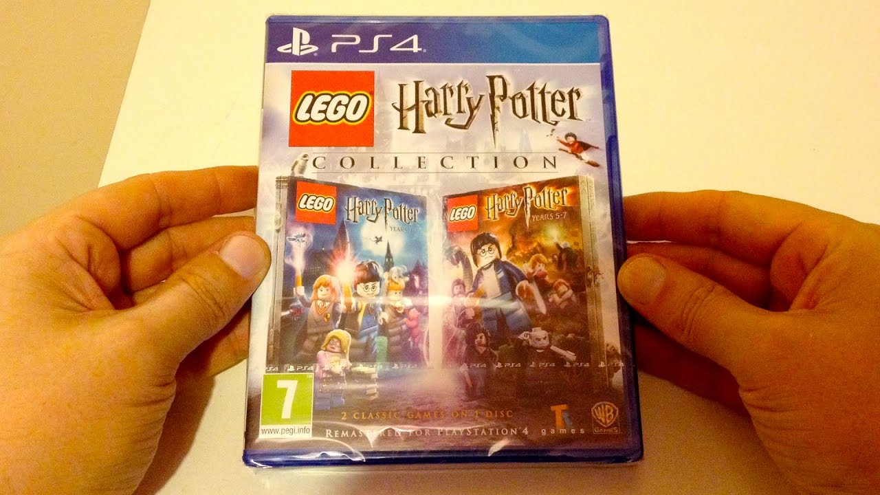 LEGO Harry Potter Collection Remastered (PS4) Unboxing - YouTube