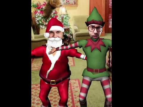 Christmas Dance – Happy Moves - Put Your Face In A Video (Android And IOS Free Application)