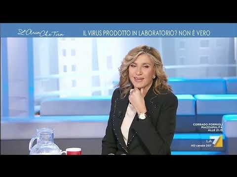 TG Leonardo sul virus creato in laboratorio, Massimo Giannini:
