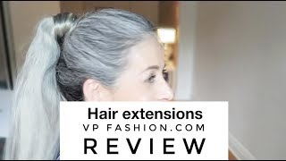 VPFashion.com ponytails REVIEW | Rocking Fashion & Life in my 50's