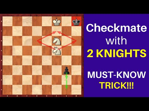 checkmate-with-2-knights?-+-giveaway!