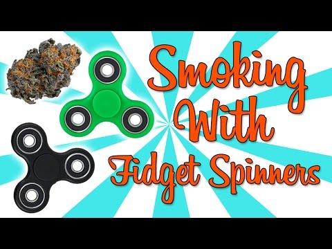 FIDGET SPINNER WEED WHEEL!!