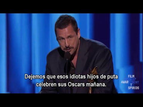 Adam Sandler gana como Mejor Actor en los Spirit Awards (Subtitulado Español)