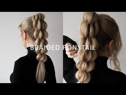 how-to:-unique-braid-ponytail-|-hair-tutorial-for-long---medium-length-hair