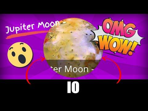 Jupiter Moon - Io - Real Pictures - youtube.com/MoonMonde